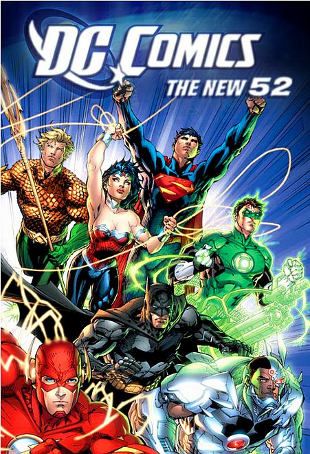 The New 52 bei DC