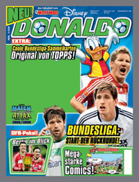 Donaldo � das Fu�ball-Comic-Magazin