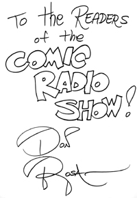 Don Rosa on ComicRadioShow