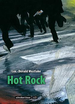 Hot Rock von Lax, Adaption des Romans von Donald Westlake