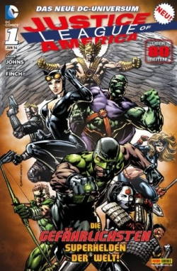 Justice League of America 1 (The New 52)