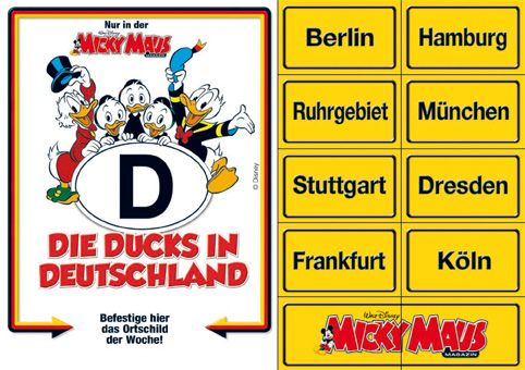 Ducks in Deutschland