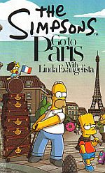 Die Simpsons in Paris mit Linda Evangelista